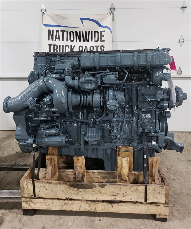 USED 2009 DETROIT DD15 COMPLETE ENGINE TRUCK PARTS #1957