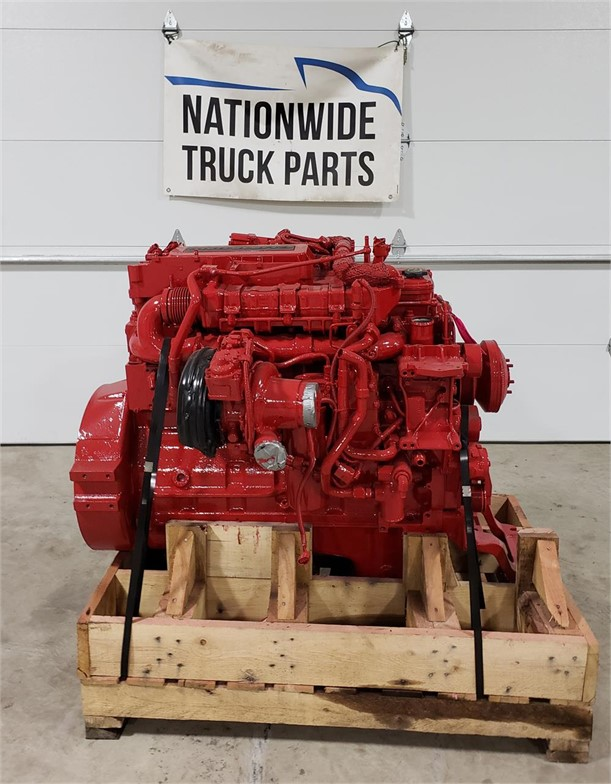 USED 2014 CUMMINS ISL9 COMPLETE ENGINE TRUCK PARTS #1979