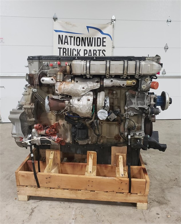 USED 2014 DETROIT DD15 COMPLETE ENGINE TRUCK PARTS #2007