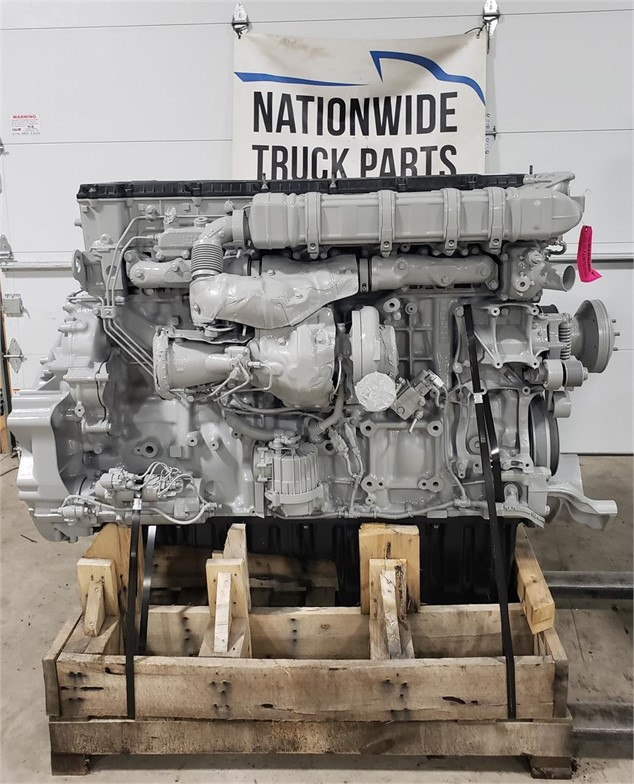 USED 2015 DETROIT DD15 COMPLETE ENGINE TRUCK PARTS #2012