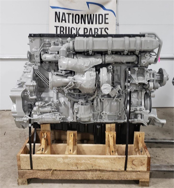 USED 2015 DETROIT DD15 COMPLETE ENGINE TRUCK PARTS #2014