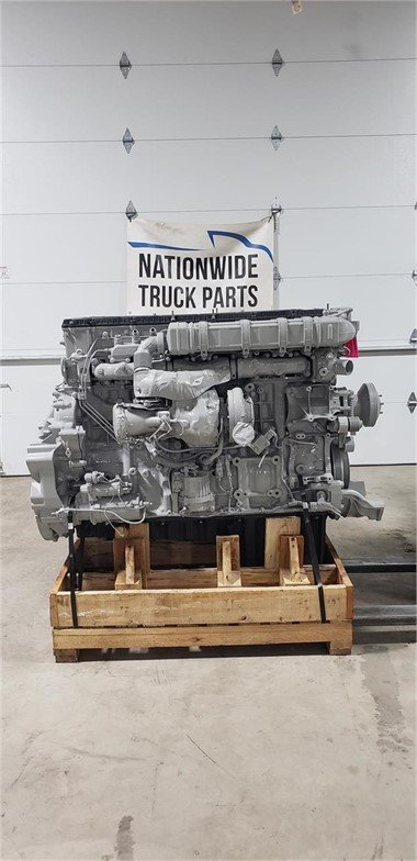 USED 2015 DETROIT DD15 COMPLETE ENGINE TRUCK PARTS #2016