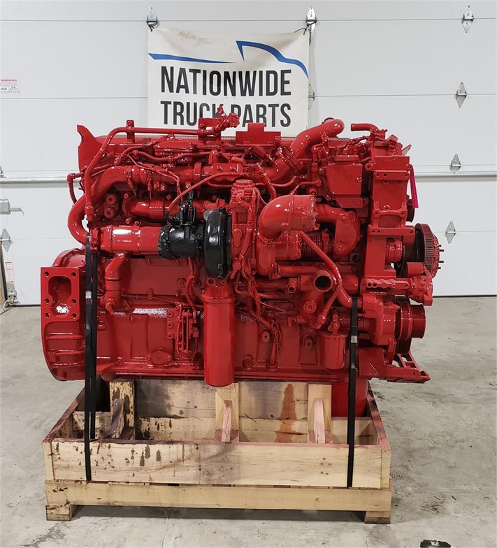 USED 2014 CUMMINS ISX15 COMPLETE ENGINE TRUCK PARTS #2019