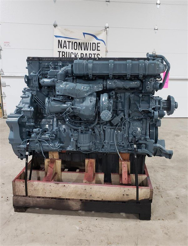 USED 2014 DETROIT DD15 COMPLETE ENGINE TRUCK PARTS #2021