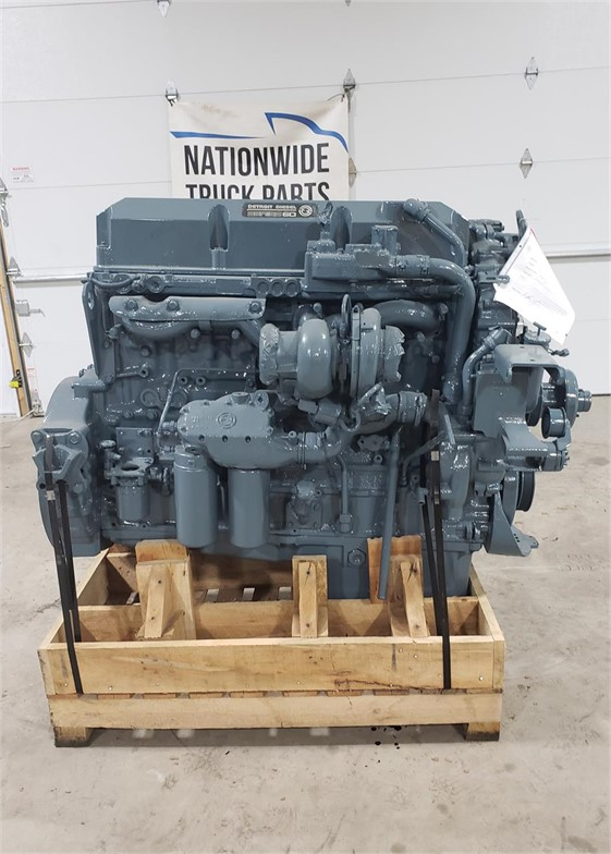 USED 2000 DETROIT SERIES 60 12.7 COMPLETE ENGINE TRUCK ENGINE #2054