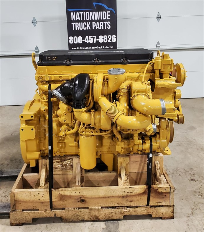 USED 2005 CATERPILLAR C13 ACERT COMPLETE ENGINE TRUCK PARTS #2093
