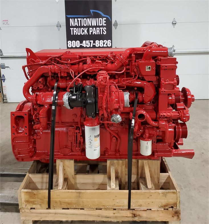USED 2015 CUMMINS ISX15 COMPLETE ENGINE TRUCK PARTS #2109