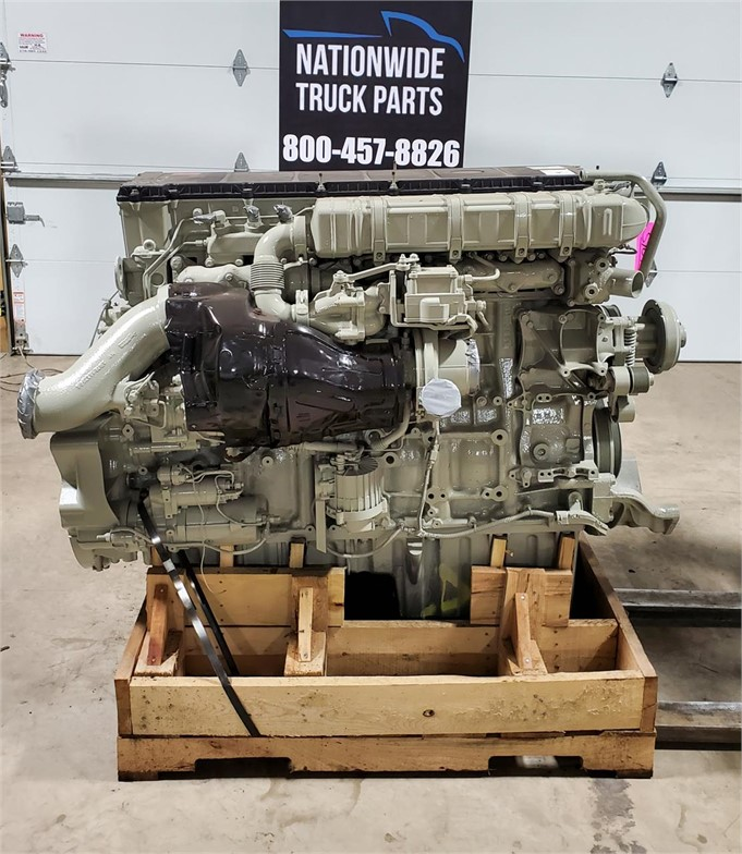USED 2012 DETROIT DD15 COMPLETE ENGINE TRUCK PARTS #2120