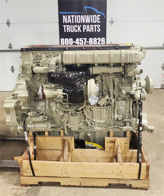 USED 2014 DETROIT DD15 COMPLETE ENGINE TRUCK PARTS #2121