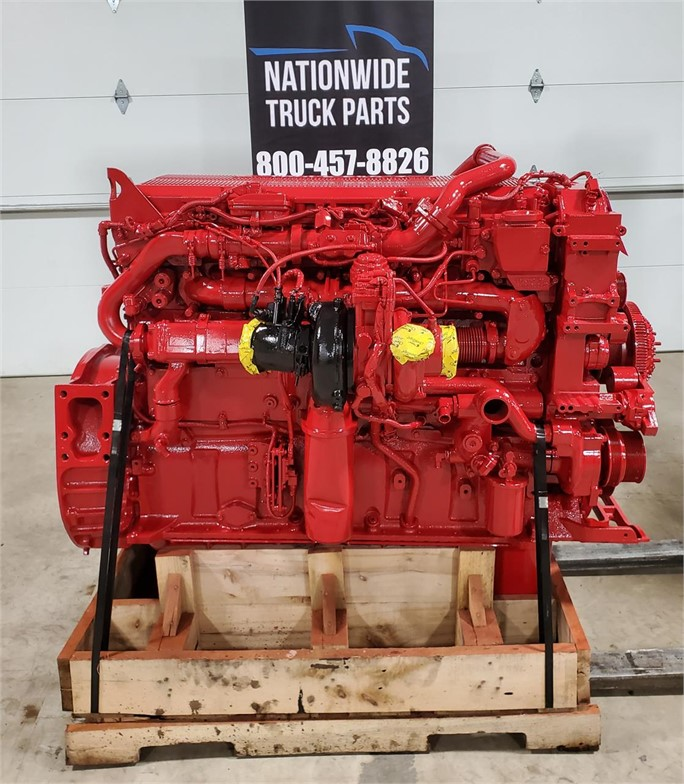 USED 2014 CUMMINS ISX15 COMPLETE ENGINE TRUCK PARTS #2136