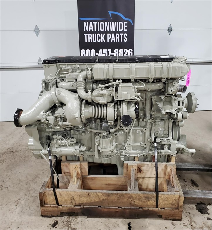 USED 2012 DETROIT DD15 COMPLETE ENGINE TRUCK PARTS #2143