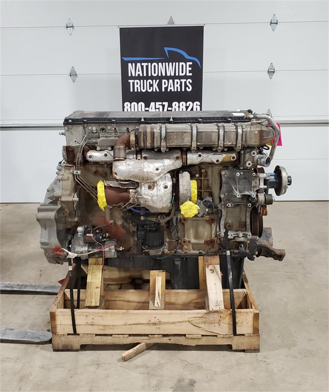 USED 2015 DETROIT DD15 COMPLETE ENGINE TRUCK PARTS #2157