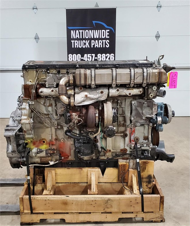 USED 2017 DETROIT DD15 COMPLETE ENGINE TRUCK PARTS #2158