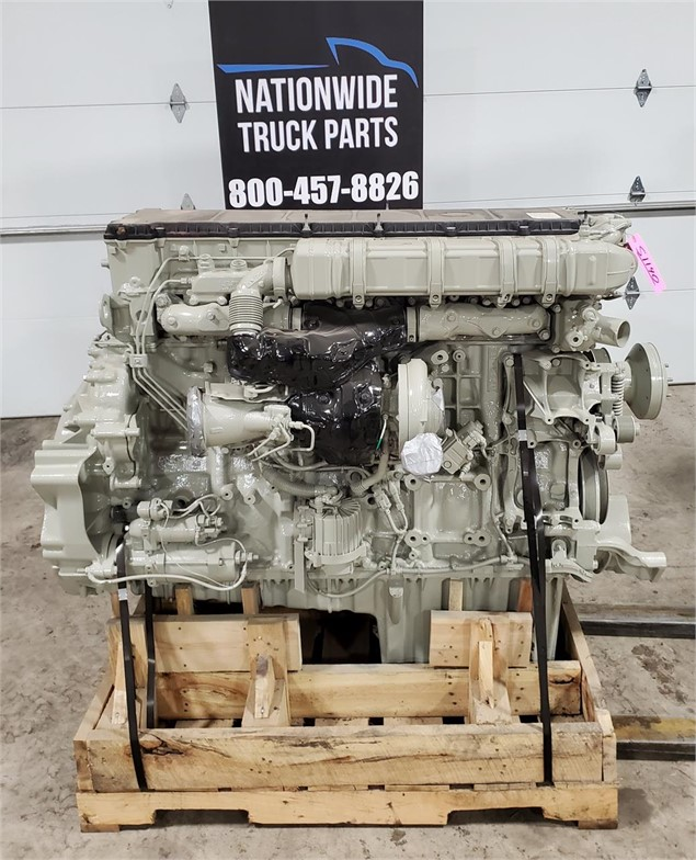 2014 DETROIT DD15 ENGINE ASSEMBLY TRUCK PARTS #724186