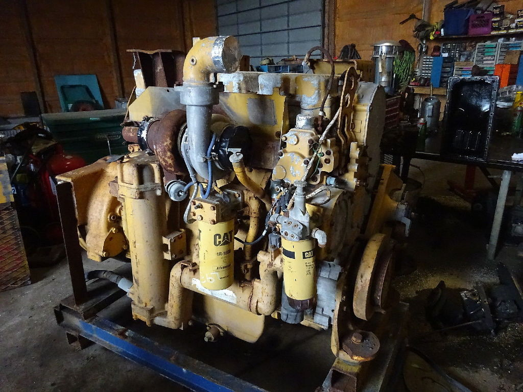 USED 0 CAT 3456 COMPLETE ENGINE TRUCK PARTS #11003