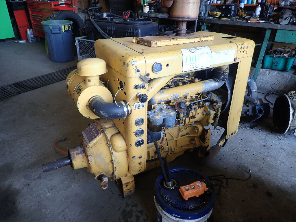USED FORD NEW HOLLAND 268 DIESEL ENGINE GENERATOR EQUIPMENT #11180