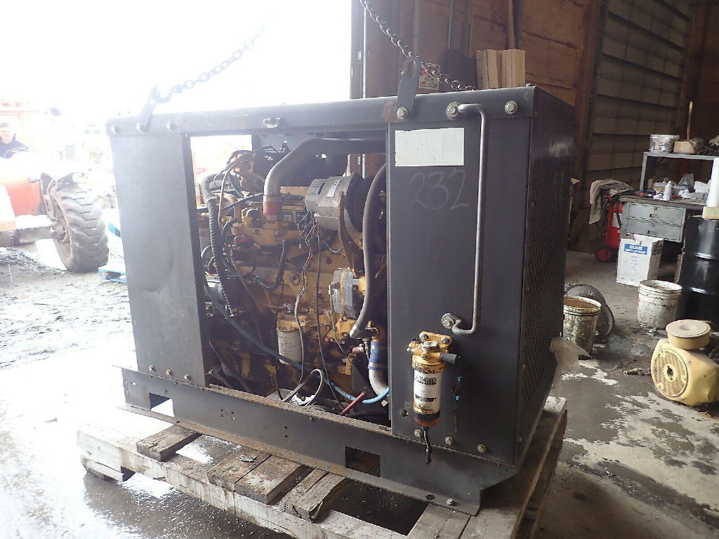 USED JOHN DEERE 6068HF485 GENERATOR EQUIPMENT #11187