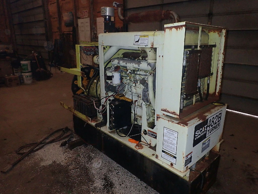 USED NEW HOLLAND BSD444 GENERATOR EQUIPMENT #11204
