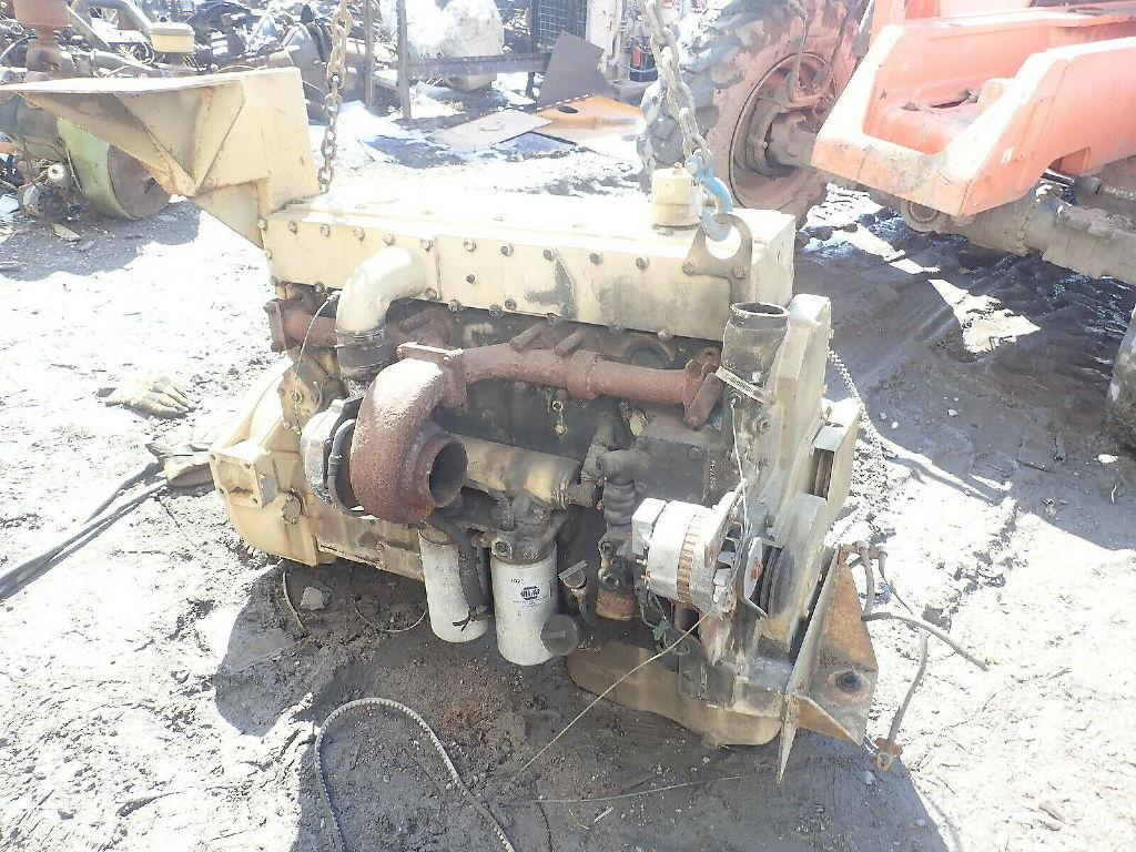 CUMMINS LT10 TURBO ENGINE ASSEMBLY TRUCK PARTS #631946