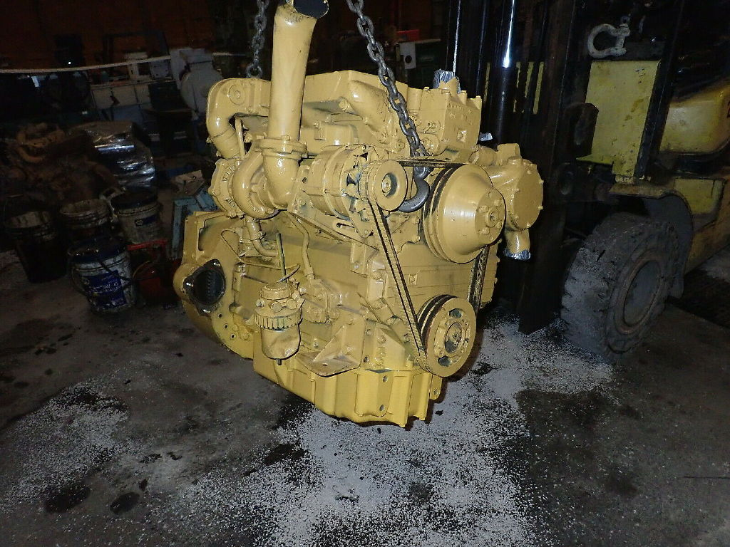 USED CAT 3054T COMPLETE ENGINE TRUCK PARTS #11223