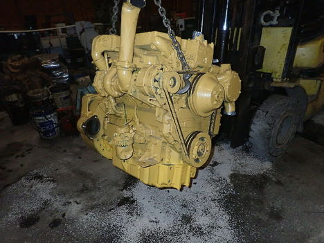 USED CAT 3054T COMPLETE ENGINE TRUCK PARTS #11223-1