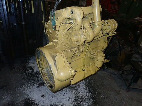 USED CAT 3054T COMPLETE ENGINE TRUCK PARTS #11223-2