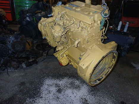 USED CAT 3054T COMPLETE ENGINE TRUCK PARTS #11223-3