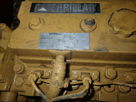 USED CAT 3054T COMPLETE ENGINE TRUCK PARTS #11223-4