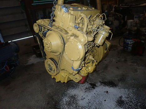 USED CAT 3054T COMPLETE ENGINE TRUCK PARTS #11223-7