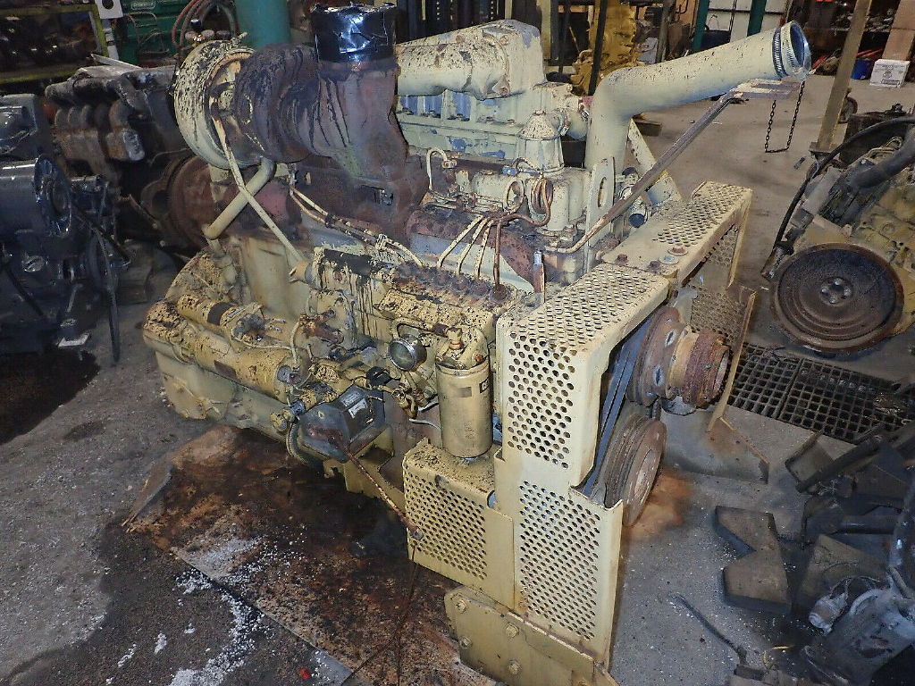 USED CAT 3306DITA COMPLETE ENGINE TRUCK PARTS #11281