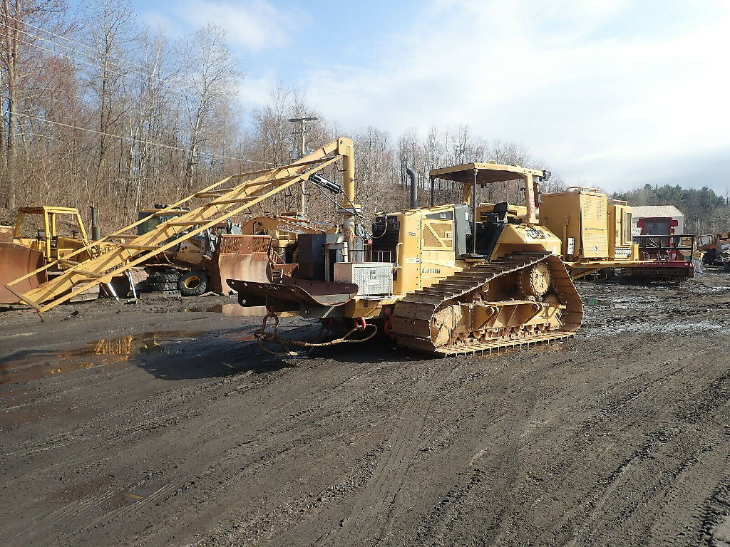 USED 2008 CAT D6N LGP CRAWLER DOZER EQUIPMENT #11287