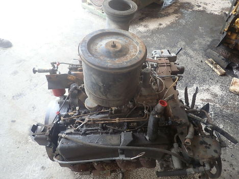 USED CAT 3208 V8 COMPLETE ENGINE TRUCK PARTS #11293-4