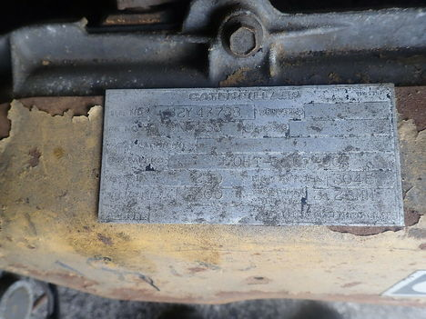 USED CAT 3208 V8 COMPLETE ENGINE TRUCK PARTS #11293-5