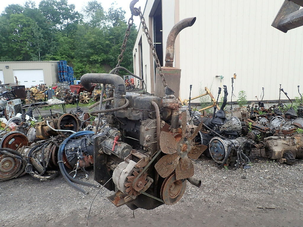 USED PERKINS D3 152 COMPLETE ENGINE ENGINES & PART #11303