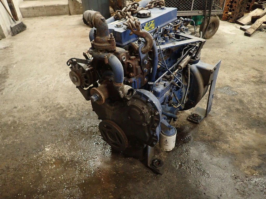 USED PERKINS 4.41 COMPLETE ENGINE ENGINES & PART #11315