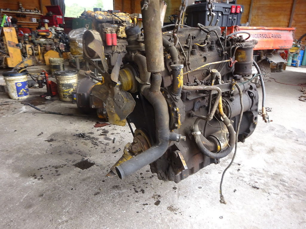 USED PERKINS 4-236T COMPLETE ENGINE ENGINES & PART #11320