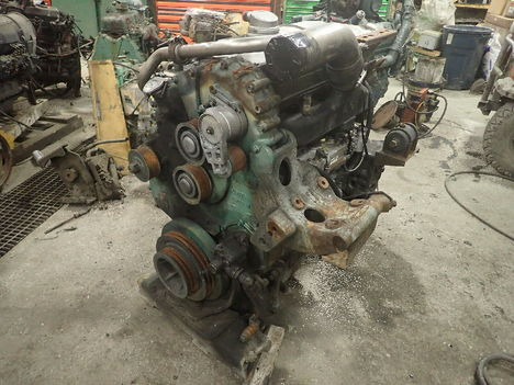 USED 2003 DETROIT DIESEL SERIES 50 COMPLETE ENGINE TRUCK PARTS #11338-1