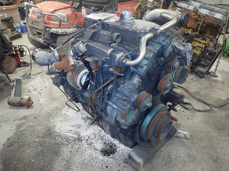 USED 2003 DETROIT DIESEL SERIES 50 COMPLETE ENGINE TRUCK PARTS #11338-2
