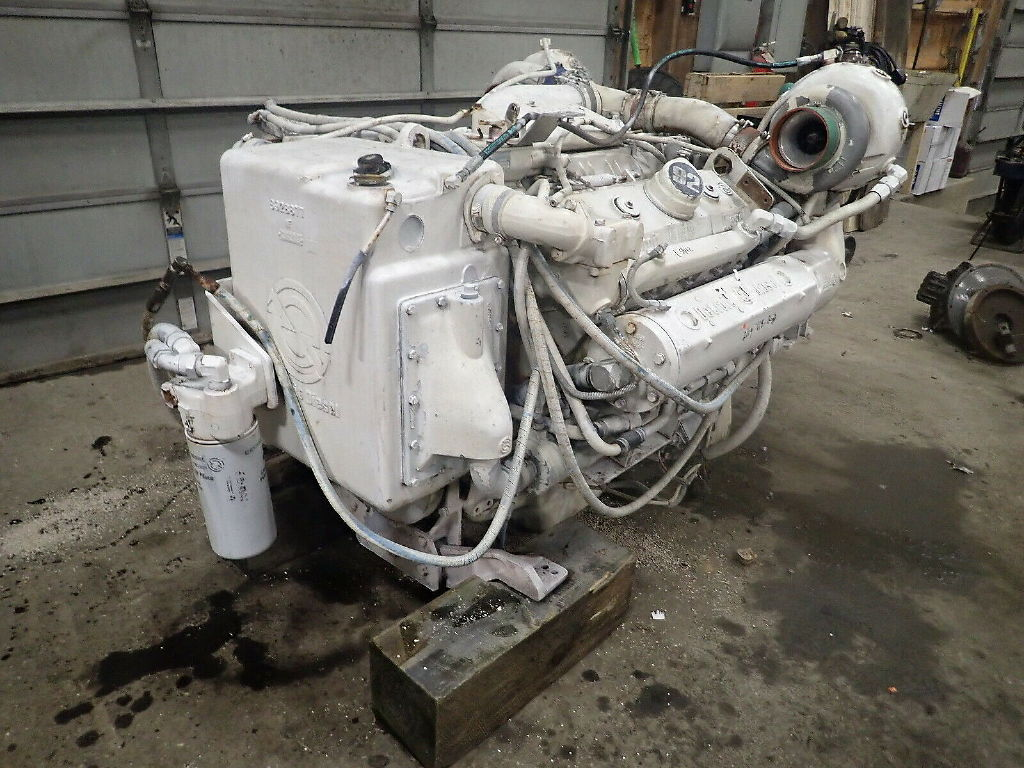 USED DETROIT DIESEL 8V92TTA COMPLETE ENGINE TRUCK PARTS #11359