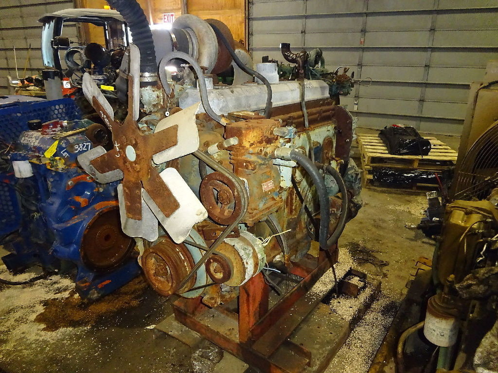USED DETROIT DIESEL 671T COMPLETE ENGINE TRUCK PARTS #11360