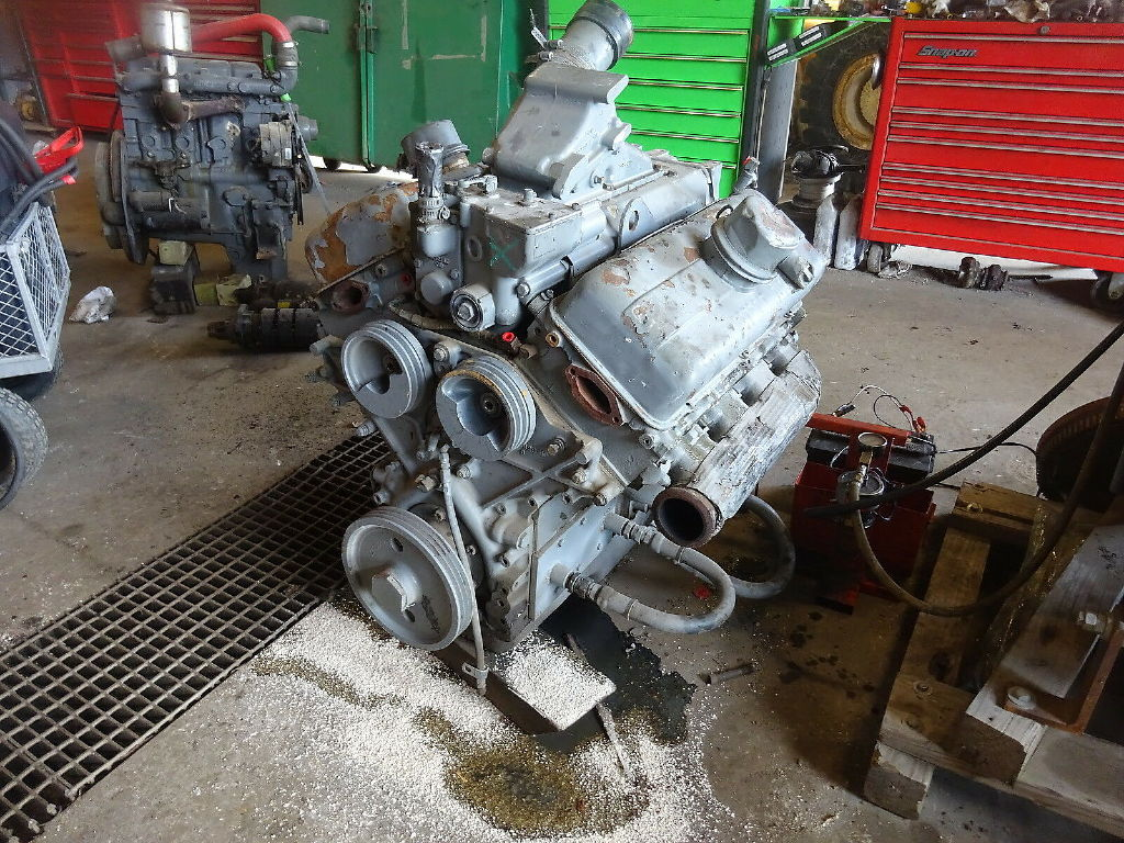 USED DETROIT DIESEL 8V53 COMPLETE ENGINE TRUCK PARTS #11361