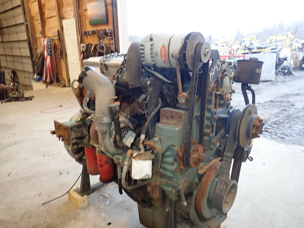 USED DETROIT DIESEL SER 60 11.1 COMPLETE ENGINE TRUCK PARTS #11363