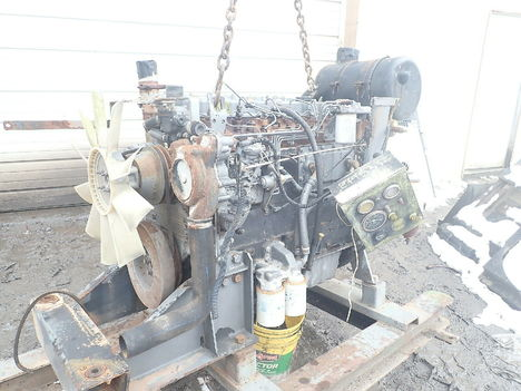 USED PERKINS 1006-60TA COMPLETE ENGINE TRUCK PARTS #11484-2