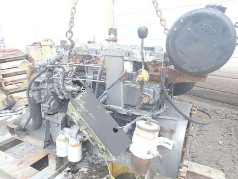 USED PERKINS 1006-60TA COMPLETE ENGINE TRUCK PARTS #11484-3