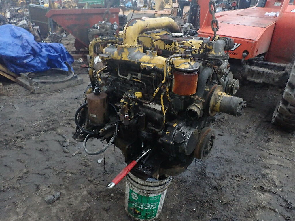 USED ISUZU 4BD1T COMPLETE ENGINE TRUCK PARTS #11542