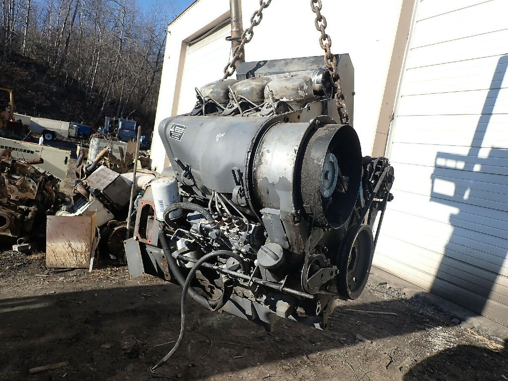 USED DEUTZ F3L912 COMPLETE ENGINE TRUCK PARTS #11561
