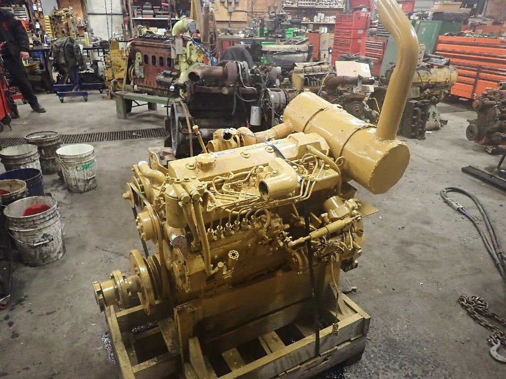 KOMATSU SA6D95L-1 ENGINE ASSEMBLY TRUCK PARTS #707653