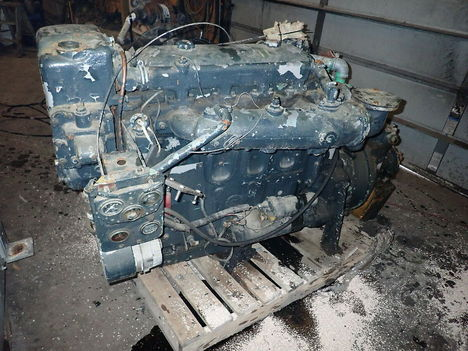 USED DETROIT DIESEL 4-71 COMPLETE ENGINE TRUCK PARTS #11611-1