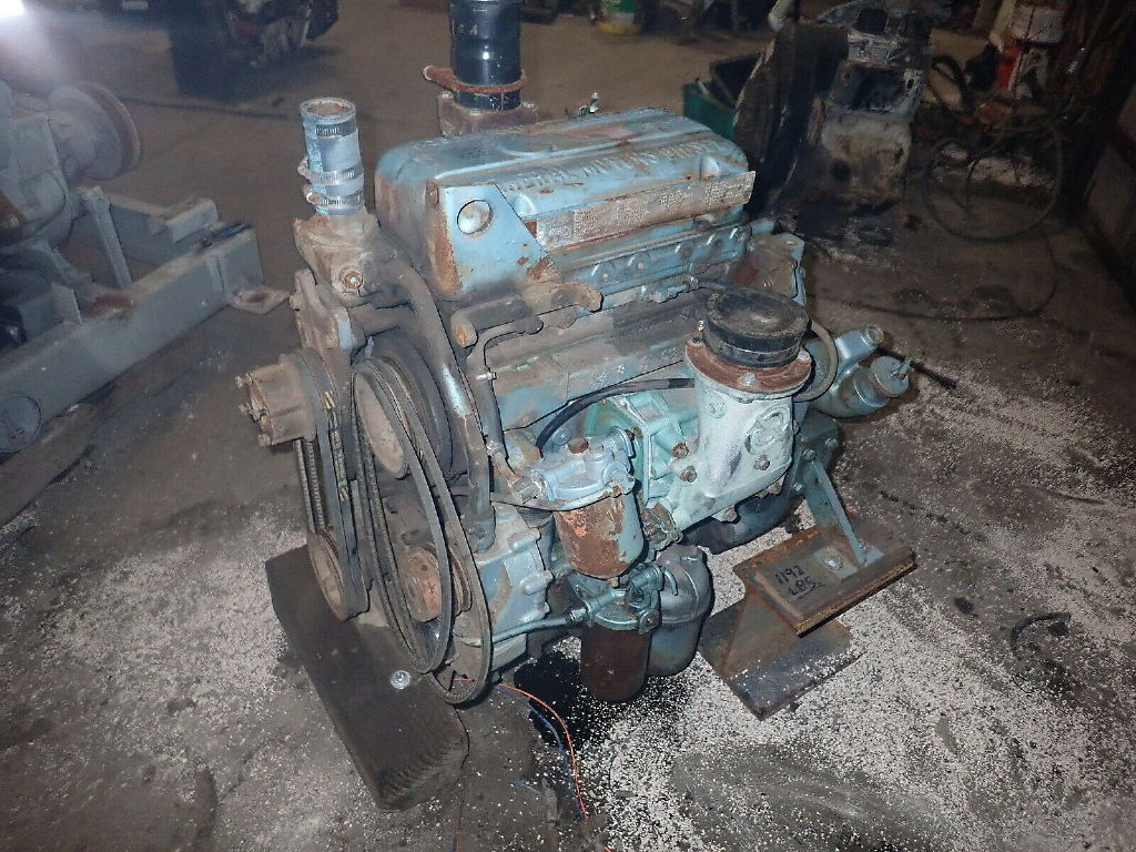 USED DETROIT DIESEL 3-53 COMPLETE ENGINE TRUCK PARTS #11612