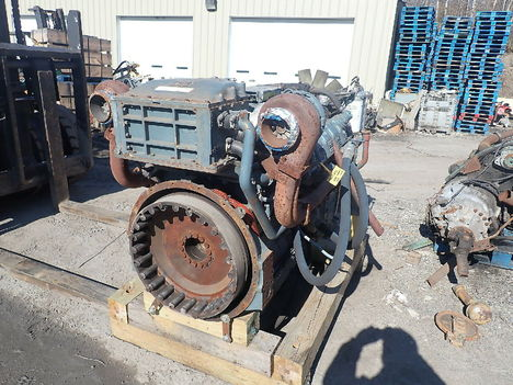 USED DETROIT DIESEL MTU 12V2000 COMPLETE ENGINE TRUCK PARTS #11627-2